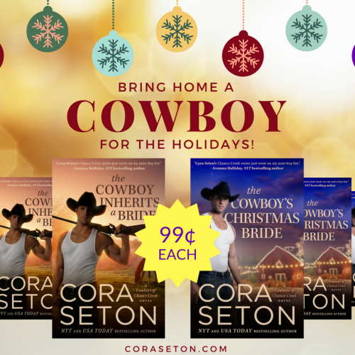 Bring Home A Cowboy For The Holidays!
